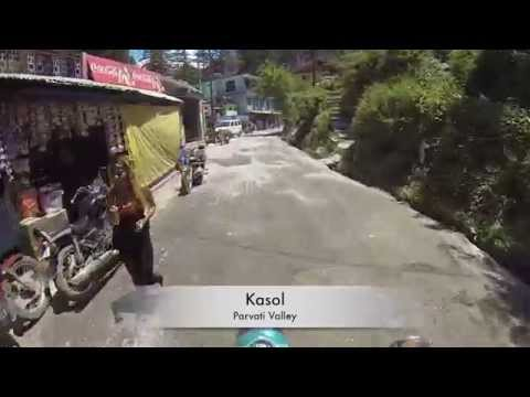 Thumbnail: Riding thru Kasol, Parvati valley - India. getting pulled over by the Police.