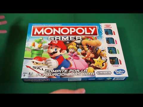 Unboxing Monopoly Gamer, el Monopolio con los personajes de Nintendo
