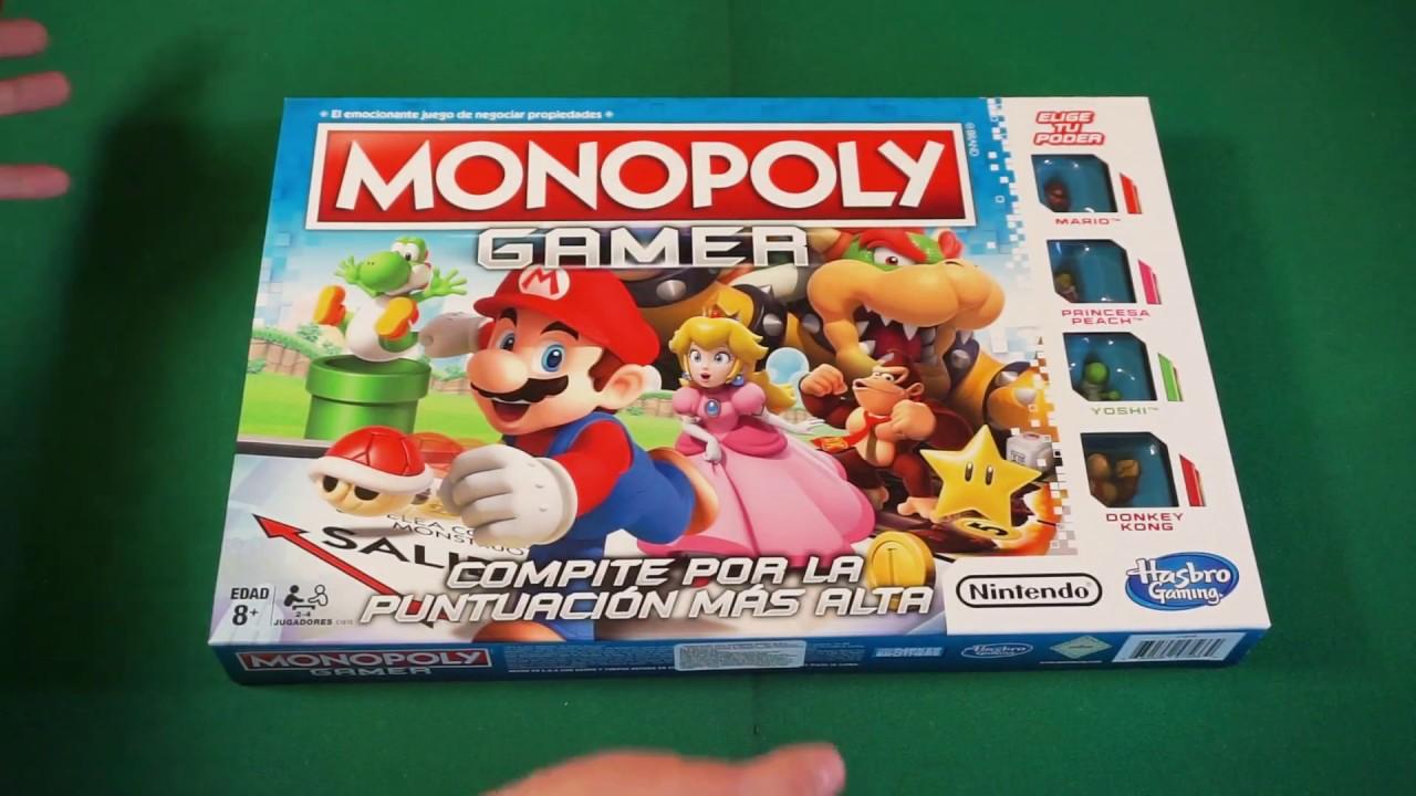 Unboxing Monopoly Gamer El Monopolio Con Los Personajes De Nintendo