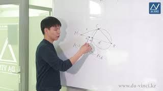 11 класс, 41 урок, Две теоремы об отрезках, связанных с окружностью