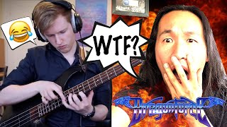 DragonForce Reaction - Herman Li Reacts to Through the Fire and Tap by Charles Berthoud