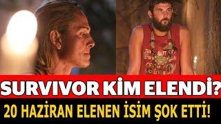 Survivor 20 Haziran Kim Elendi İLK BURADA