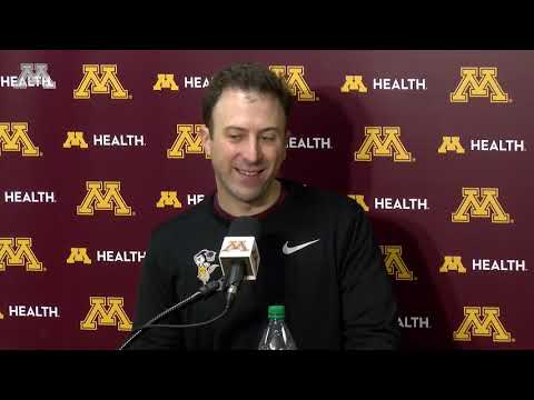 Gopher - Coach Pitino Previews Illinois | KFAN 100.3 FM
