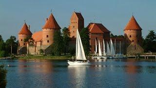 Средневековые замки Литвы(Средневековые каменные замки были сконцентрированы в центре Литовского государства, а сейчас поделены..., 2016-01-08T19:27:41.000Z)