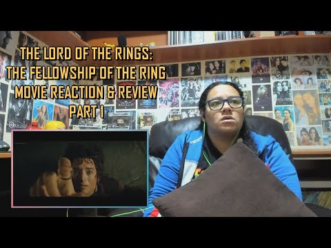 The Lord Of The Rings: The Fellowship Of The Ring PART 1/2 MOVIE REACTION & REVIEW | JuliDG