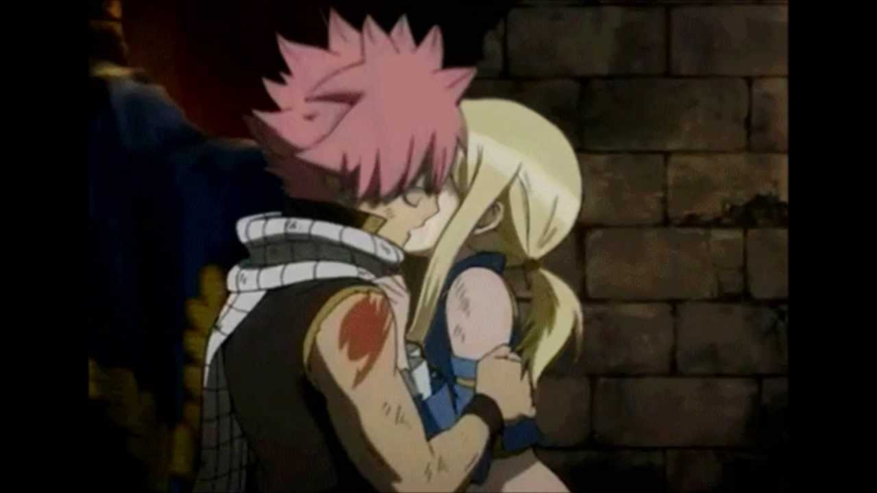 Fairy Tail Love - My first Kiss - YouTube