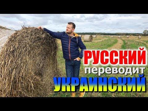 РУССКИЙ ПЕРЕВОДИТ УКРАИНСКИЙ