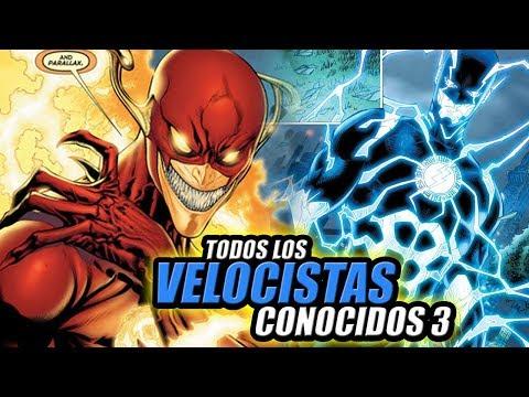 Todos los VELOCISTAS Conocidos en THE FLASH y DC Comics - Parte 3