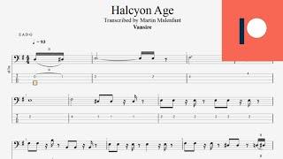 Vansire - Halcyon Age (tab bass)