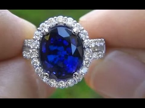 Rare Kate Middleton Blue Sapphire Engagement Ring