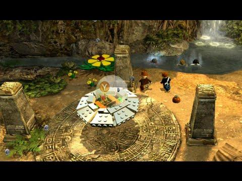 LEGO Indiana Jones 2 100% Walkthrough Part 21 - Kingdom of the Crystal Skull 3 Hub Collectibles