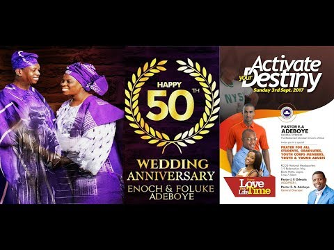 SEPTEMBER 2017 THANKSGIVING SERVICE - ACTIVATE YOUR DESTINY