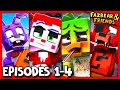 Gambar cover EPISODES #1-4 COMPILATION - Fazbear and Friends FNAF Series
