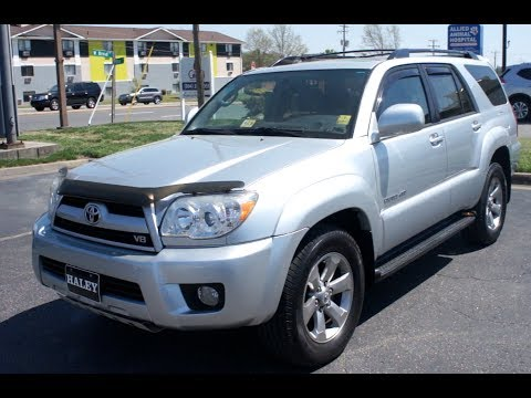 2008 Toyota 4Runner V8 Limited 4WD Walkaround, Start up, Tour and Overview