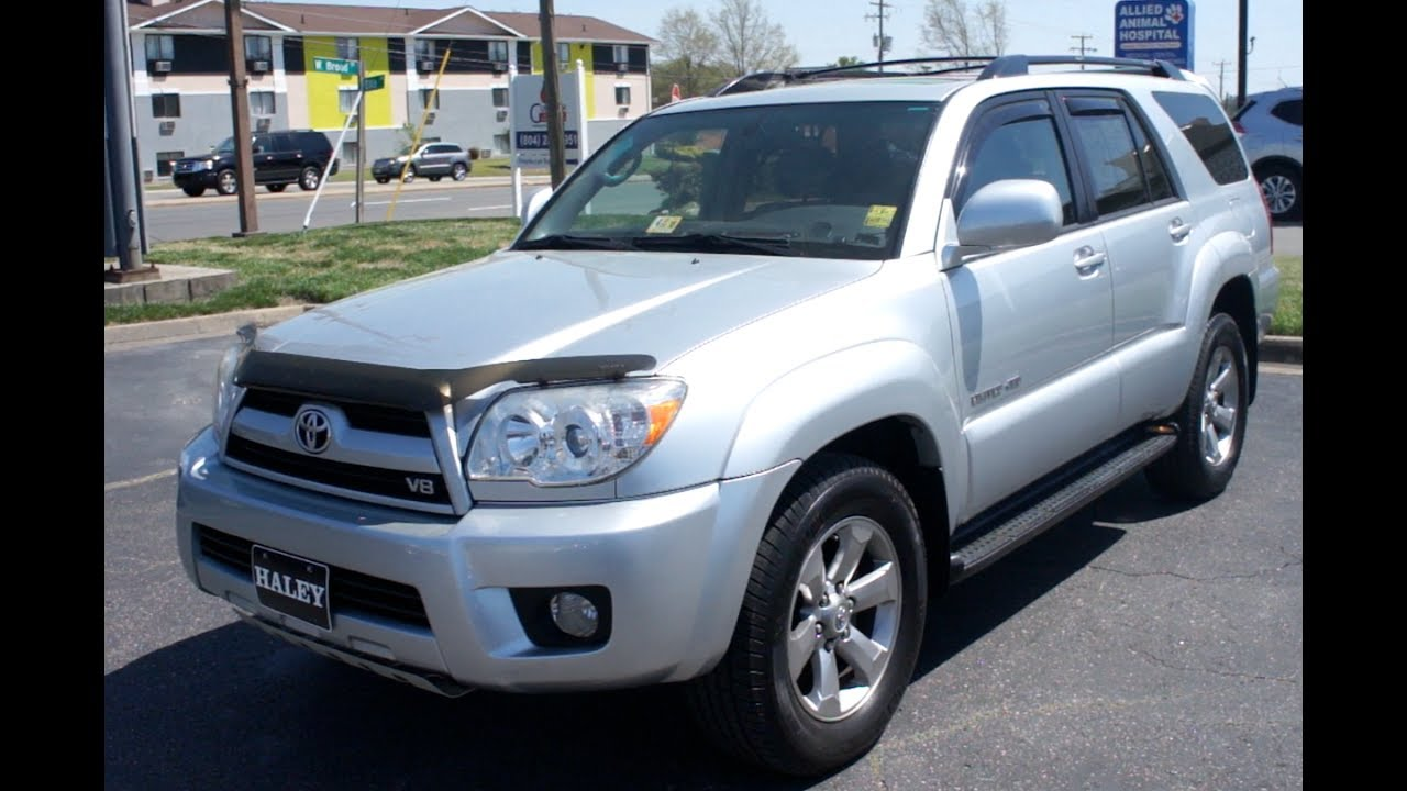 2008 Toyota 4runner V8 Limited 4wd Walkaround Start Up Tour And