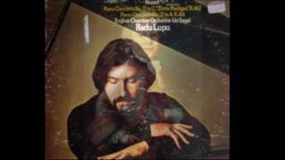 Lupu plays Mozart - Piano Concerto No. 21, K. 467: Second Movement [Part 2/3]