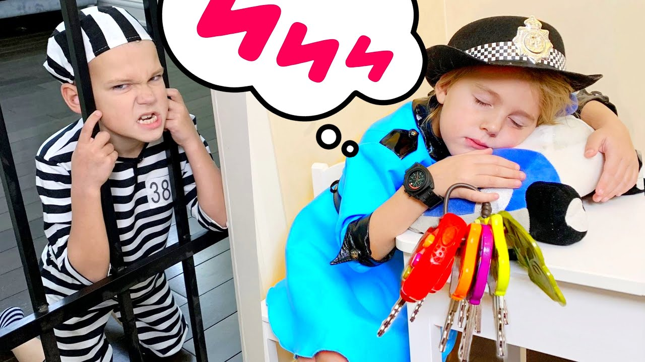 Five Kids Police Song + more Children's Songs and Videos