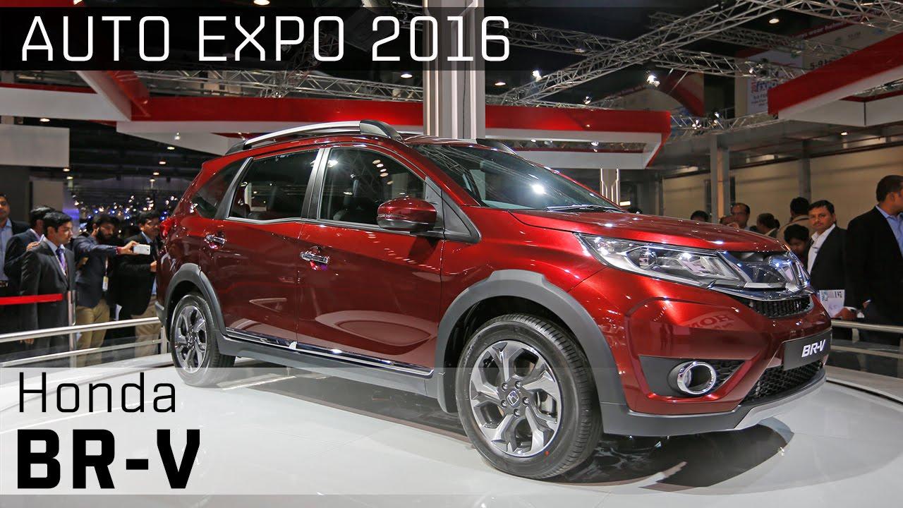 Honda BR-V :: 2016 Auto Expo WalkAround video :: ZigWheels ...