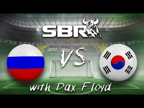 2014 World Cup Betting: Russia vs South Korea