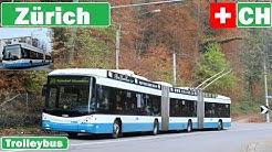 Switzerland , Zürich trolleybuses 2019