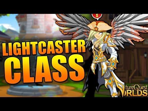 How to get Lightcaster Class! Non-Member AQW AdventureQuest Worlds