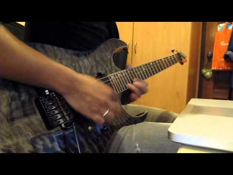 Metal Guitar Solo with Ibanez Premium RG870 QMZ