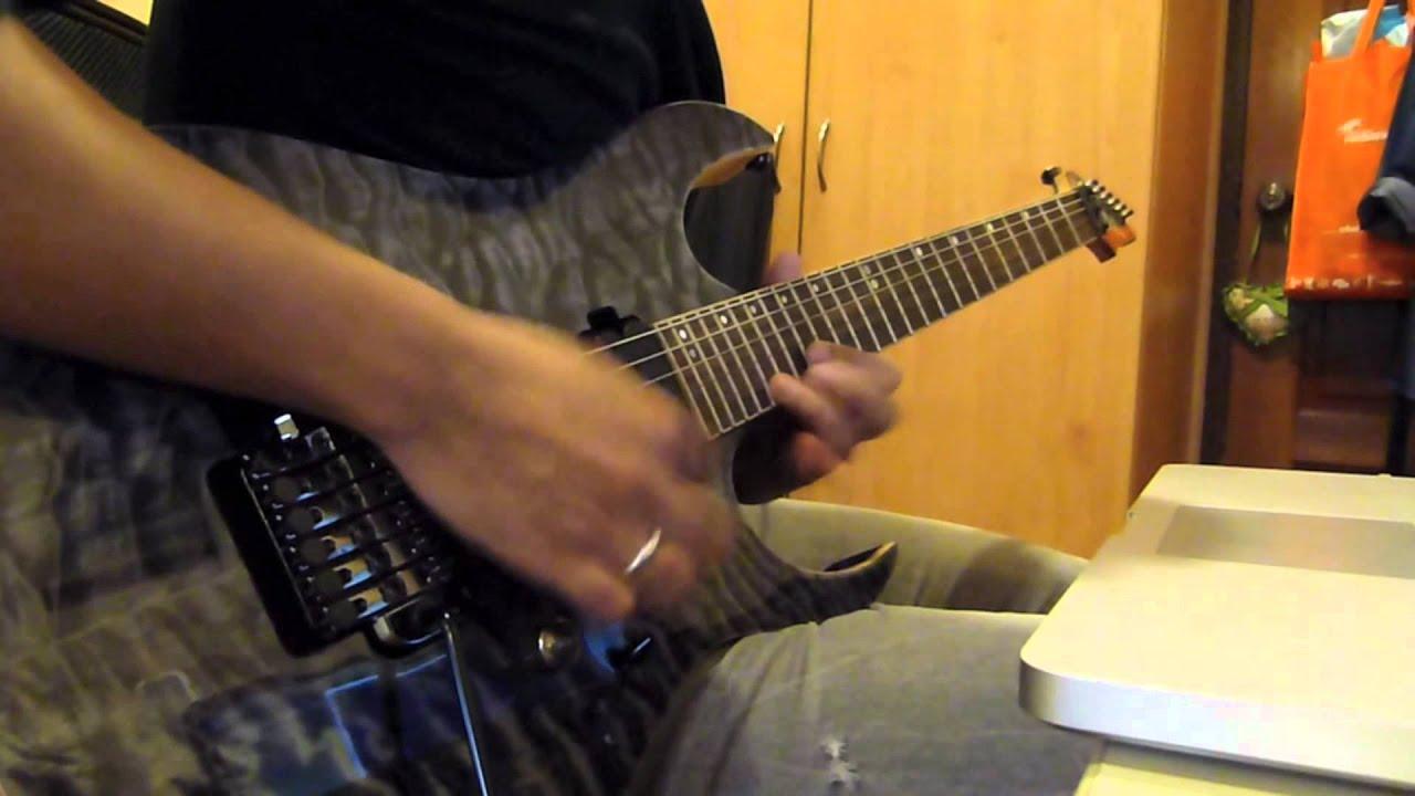 metal guitar solo with ibanez premium rg870 qmz youtube. Black Bedroom Furniture Sets. Home Design Ideas