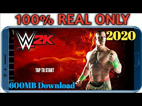 How To Download WWE2K  Free In Android Real|WWE 2k Full Download And Installation For Free New(2020)