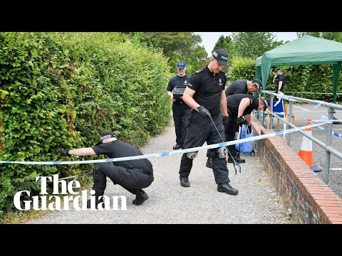 Novichok Investigation: Police Search Salisbury Park Visited By Couple
