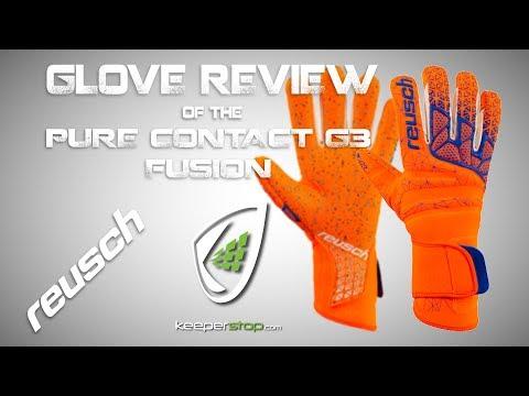 Reusch Pure Contact G3 Fusion Goalkeeper Glove,  Custom Fit Exceptional Grip