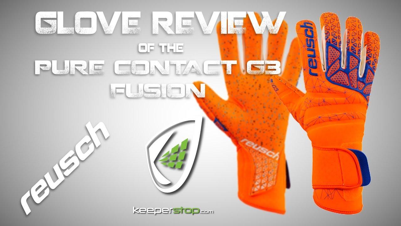 Reusch Pure Contact G3 Fusion Goalkeeper Glove bdc501f5a898