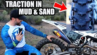 Get the traction in loose conditions - Dunlop Geomax MX12 Sand/Mud Rear Tire REVIEW