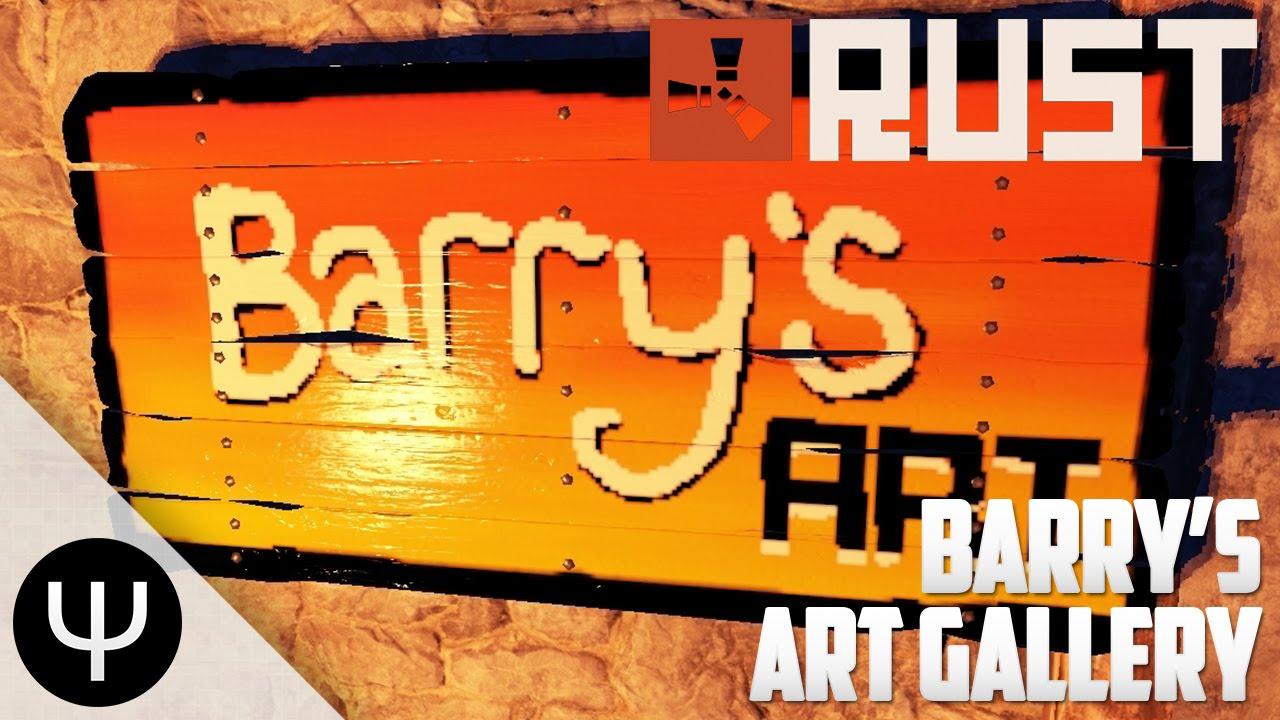 Rust Barrys Art Gallery