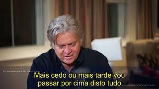 Bolsonaro e Steve Bannon -
