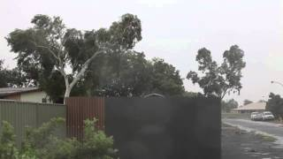 Severe Tropical Cyclone Port Hedland -STC Rusty 2013