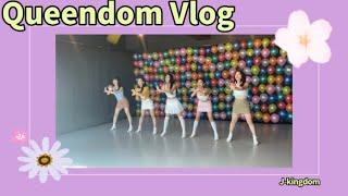 레드벨벳- 'Queendom' 촬영 브이로그 Filming Vlog   J-kingdom