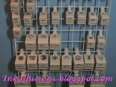 Craft Punch Storage Rack