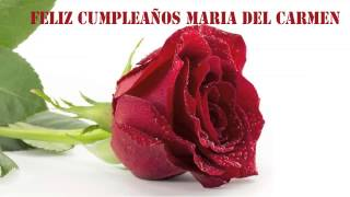 MariadelCarmen   Flowers & Flores - Happy Birthday