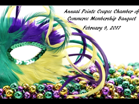 Pointe Coupee Chamber of Commerce Banquet 1080p
