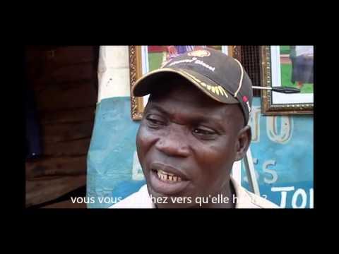 Le quotidien d'un vulcanisateur (réparateur de pneu) à Atakpamé au Togo
