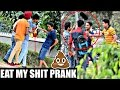 Eat My Shit (GU KHA LO) Prank in INDIA!! ( PRANK GONE WRONG) | AVRprankTV
