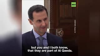 Assad on deaths of Epstein, White Helmets' founder, bin Laden & al-Baghdadi