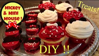 DIY Fun &amp Easy Disney Mickey Mouse Treats! Belle! Cruella De Ville! Party Ideas! Family Fun!