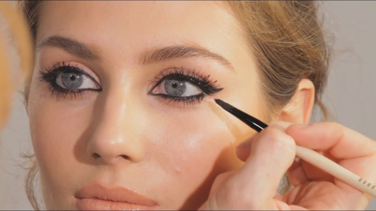 The Feline Flick Cat Eye Make Up Tutorial Charlotte Tilbury