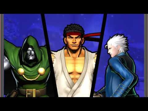 Ultimate Marvel vs Capcom 3: Online Lobby 4