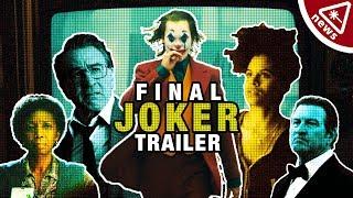 The Latest Joker Trailer Has Fans Losing Their Minds! (Nerdist News w/ Jenny Lorenzo)