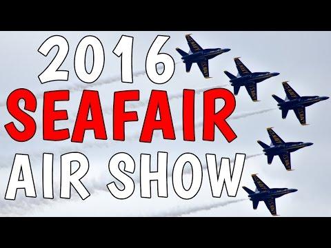 2016 Seattle Seafair Air Show - Blue Angels