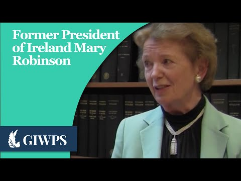 GIWPS Profiles in Peace: Mary Robinson