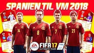 SPANIEN TIL VM 2018!! - FIFA 17 Ultimate Team (DANSK)