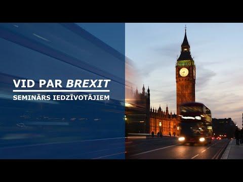 VID par Brexit: kas mainīsies, vedot vai sūtot preces uz Latviju
